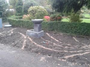 Aanleg tuin border